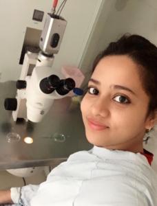 Ankita Gupta chief embryologist